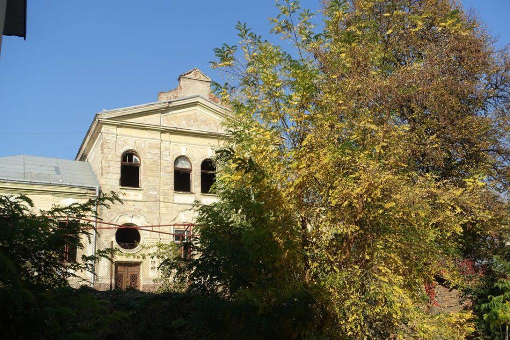 Das Gebäude des ehemaligen Jüdischen Krankenhauses