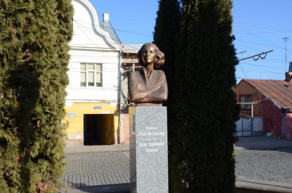 Rose Ausländer monument