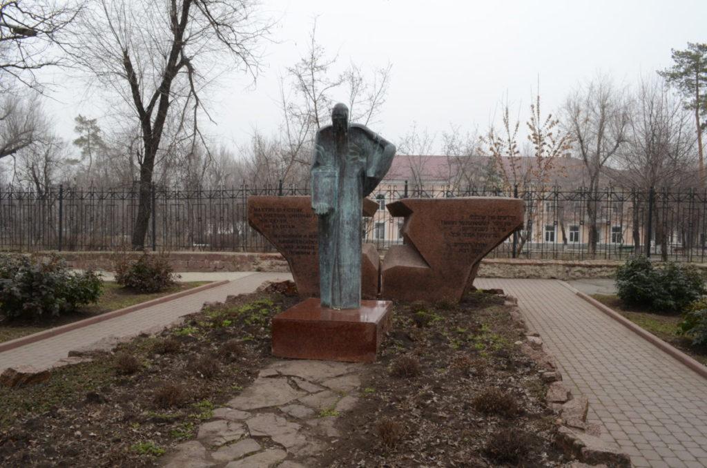 Памятник жертвам еврейского гетто