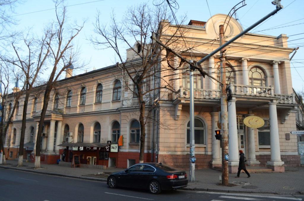 здание бывшей женской земской гимназии
