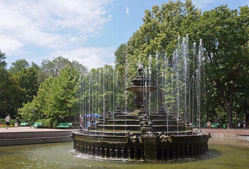 фонтан в парке Штефана чел Маре