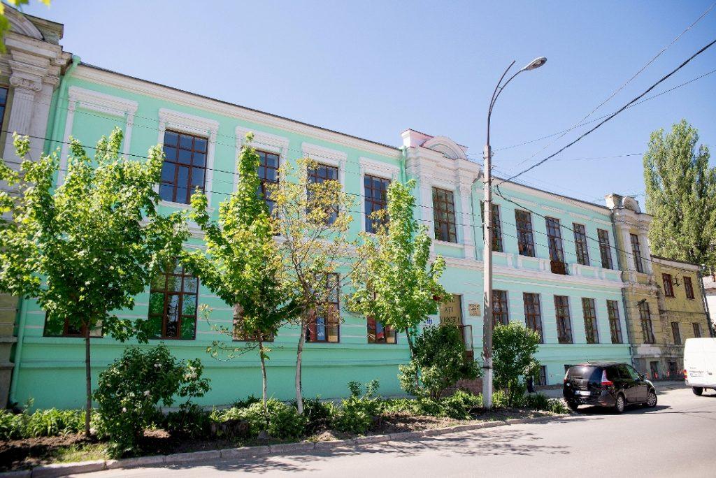 Здание бывшего Еврейского профессионального училища для девочек